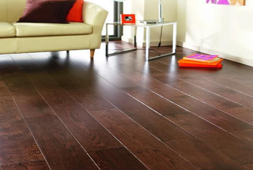 Click together tile flooring